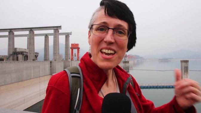 Entwurzelt | Am Drei-Schluchten-Staudamm | Damaris in China Teil 2